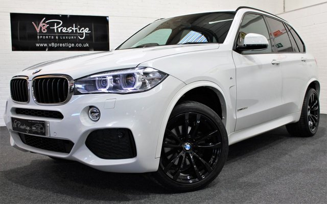 2015 64 BMW X5 2.0 SDRIVE25D M SPORT 5d AUTO 220 BHP