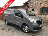 USED 2016 65 RENAULT TRAFIC 1.6 SL27 BUSINESS PLUS DCI S/R P/V 1d 115 BHP Ion Grey, Air Con, Only 17,400 Miles, 115 Bhp, Finance Arranged.