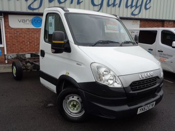 2013 IVECO-FORD DAILY 2.3 35S11 1d 106 BHP £4000.00