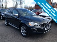 USED 2011 61 VOLVO XC60 2.4 D3 R-DESIGN AWD 5d 161 BHP R-Design contrasting leather upholstery + steering wheel            Rear parking sensors              Family pack (rear booster seats)