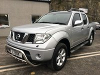 USED 2006 NISSAN NAVARA 2.5 DCI OUTLAW 4X4 SHR SWB D/C 1d 169 BHP *FSH*CREW CAB*TOW BAR*LOAD COVER*PRIVATE PLATE*