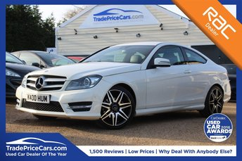 2011 MERCEDES-BENZ C CLASS 1.8 C180 BLUEEFFICIENCY AMG SPORT EDITION 125 2d AUTO 156 BHP £12750.00