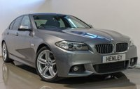 2014 BMW 5 SERIES 2.0 525D M SPORT 4d AUTO 215 BHP £18490.00