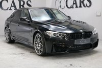 USED 2016 66 BMW M3 3.0 M3 COMPETITION PACKAGE 4d AUTO 444 BHP COMPETITION PACK, HEAD UP DISPLAY, UPGRADE 20 INCH ALLOY WHEELS, FULL BLACK LEATHER HEATED SPORT SEATS, SATELLITE NAVIGATION, BLUETOOTH CONNECTIVITY, CARBON FIBRE INLAYS, CONTRAST STITCH, HARMON KARDON PREMIUM SOUND, CARBON FIBRE ROOF