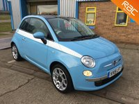 USED 2015 15 FIAT 500 1.2 LOUNGE 3d 69 BHP ***FINANCE AVAILABLE *** CALL NOW OR APPLY ONLINE