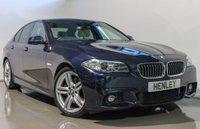 USED 2015 64 BMW 5 SERIES 3.0 530D M SPORT 4d AUTO 255 BHP