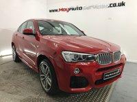 2016 BMW X4 3.0 XDRIVE35D M SPORT 4d AUTO 309 BHP £28000.00