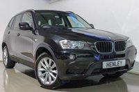 2014 BMW X3 2.0 XDRIVE20D SE 5d AUTO 181 BHP £19990.00