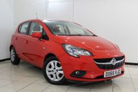USED 2015 65 VAUXHALL CORSA 1.2 DESIGN CDTI ECOFLEX S/S 5DR 74 BHP SERVICE HISTORY + BLUETOOTH + CRUISE CONTROL + MULTI FUNCTION WHEEL + RADIO/CD + 15 INCH ALLOY WHEELS