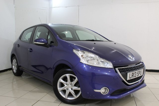 View our 2013 13 PEUGEOT 208 1.2 ACTIVE 5DR 82 BHP