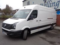 USED 2015 65 VOLKSWAGEN CRAFTER 2.0 CR35 TDI H/R P/V 1d 108 BHP