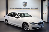 USED 2013 63 BMW 3 SERIES 2.0 318D SPORT 4DR AUTO 141 BHP + FULL BMW SERVICE HISTORY + 1 OWNER FROM NEW + BLUETOOTH + SPORT SEATS + CRUISE CONTROL + RAIN SENSORS + LIGHT PACKAGE + DAB RADIO + PARKING SENSORS + 17 INCH ALLOY WHEELS +