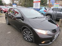 2013 HONDA CIVIC 1.6 I-DTEC ES 5d 118 BHP £7350.00