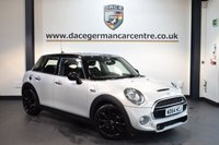 USED 2015 64 MINI HATCH COOPER 2.0 COOPER SD 5DR CHILI PACK 168 BHP + HALF BLACK  LEATHER INTERIOR + FULL MINI SERVICE HISTORY + 1 OWNER FROM NEW + BLUETOOTH + SPORT SEATS + DAB RADIO + LIGHT PACKAGE +CRUISE CONTROL + AUTO AIR CONDITIONING + RAIN SENSORS + 17 INCH ALLOY WHEELS +