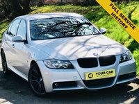 USED 2006 06 BMW 3 SERIES 3.0 330D M SPORT 4d AUTO 228 BHP ANY INSPECTION WELCOME ---- ALWAYS SERVICED ON TIME EVERY TIME AND SERVICED MAINLY BY SAME DEALERSHIP THROUGHOUT ITS LIFE,NO EXPENSE SPARED, KEPT TO A VERY HIGH STANDARD THROUGHOUT ITS LIFE, A REAL TRIBUTE TO ITS PREVIOUS OWNER, LOOKS AND DRIVES REALLY NICE IMMACULATE CONDITION THROUGHOUT, MUST BE SEEN FOR THE PRICE BARGAIN BE QUICK, 6 MONTHS WARRANTY AVAILABLE,DEALER FACILITIES,WARRANTY,FINANCE,PART EX,FIRST TO SEE WILL BUY BARGAIN