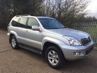 USED 2007 07 TOYOTA LAND CRUISER 3.0 D-4D LC5 8 STR 5d AUTO 171 BHP Top Spec+Leather+Nav