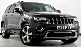 2015 JEEP GRAND CHEROKEE 3.0 CRD Overland 4x4 5dr Auto £24750.00