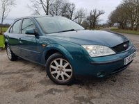 USED 2003 03 FORD MONDEO 2.0 ZETEC 5d ALLOYS & A/C