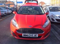 USED 2013 63 FORD FIESTA 1.2 STYLE 3d 59 BHP Only 17300 miles, probably the best available.