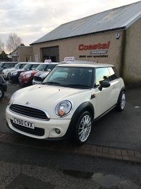 2010 MINI HATCH ONE 1.6 ONE 3d 98 BHP £4195.00