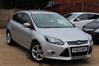 USED 2013 63 FORD FOCUS 1.6 ZETEC 5d AUTO 124 BHP **** BLUETOOTH * PARKING SENSORS ( REAR ) * ONE PREVIOUS OWNER ****