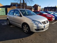 USED 2009 59 VOLKSWAGEN POLO 1.2 MATCH 5d 59 BHP LOW MILEAGE, LOW RUNNING COSTS, CHEAP INSURANCE