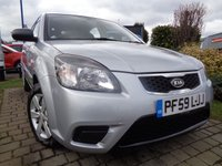 USED 2010 59 KIA RIO 1.4 1 5d 96 BHP **1 Owner FSH 7 Stamps 12 Months Mot**