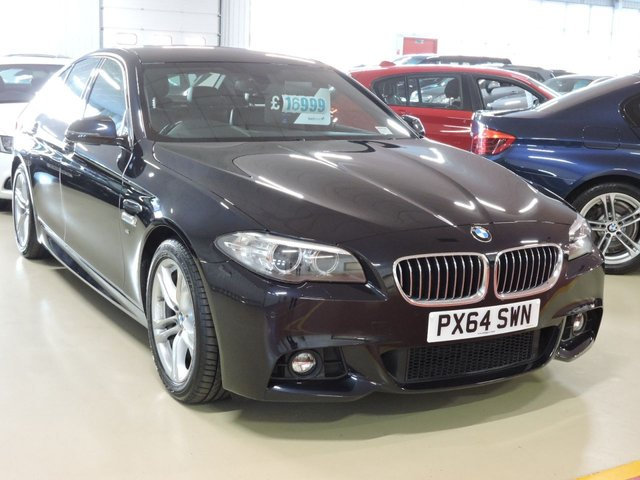 View our 2014 64 BMW 5 SERIES 2.0 520D M SPORT 4d AUTO 188 BHP