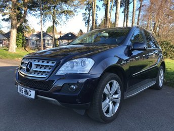 2011 MERCEDES-BENZ M CLASS 3.0 ML350 CDI BLUEEFFICIENCY SPORT 5d AUTO 231 BHP £11750.00