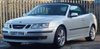 2007 SAAB 9-3 2.0 T Vector Anniversary 2dr £3795.00