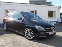 USED 2012 62 MERCEDES-BENZ B CLASS 1.8 B200 CDI BLUEEFFICIENCY SPORT 5d AUTO 136 BHP