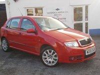 2005 SKODA FABIA 1.9 VRS TDI 5d 129 BHP £3495.00