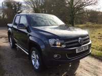 USED 2014 14 VOLKSWAGEN AMAROK 2.0 DC BiTDI HIGHLINE 4MOTION 1d 178 BHP Rear Cam, Heated Seats, H/Top