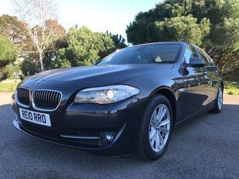 2010 BMW 5 SERIES 3.0 525D SE 4d AUTO 202 BHP £11950.00