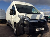 2016 CITROEN RELAY LWB 2.2 35 L3H2 ENTERPRISE HDI 129 BHP 1 OWNER FSH £10200.00