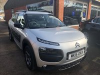 USED 2015 15 CITROEN C4 CACTUS 1.2 PURETECH FEEL 5 DOOR 80 BHP IN SILVER PPROVED CARS ARE PLEASED TO OFFER THIS CITROEN C4 CACTUS 1.2 PURETECH FEEL 5 DOOR 80 BHP IN SILVER WITH A FULL SERVICE HISTORY AND A GREAT SPEC INCLUDING  ABS, Alloy wheels, Air conditioning, Electric windows, Metallic paint, Power steering, Alarm, 2 Keys +, Central locking, Bluetooth, Parking Sensors (front), Parking Sensors (rear), Cruise control and reverse camera a great car with a great spec.