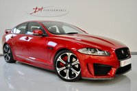 2013 JAGUAR XF XFR-S XFRS 5.0 SUPERCHARGED 4dr AUTO 1 FORMER KEEPER £37950.00
