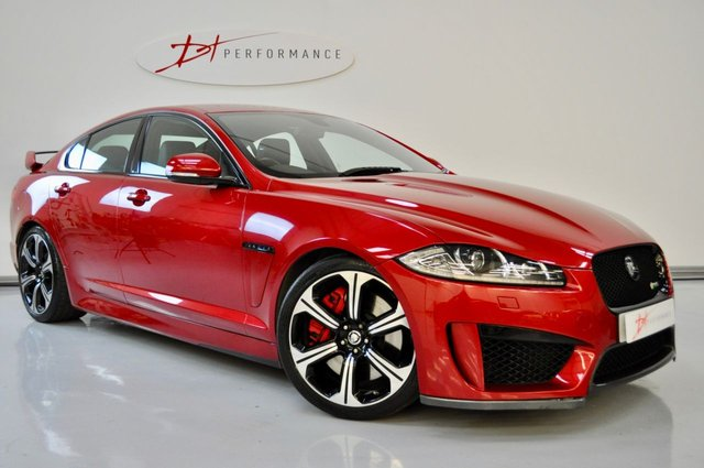 2013 62 JAGUAR XF XFR-S XFRS 5.0 SUPERCHARGED 4dr AUTO 1 FORMER KEEPER