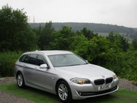 USED 2011 11 BMW 5 SERIES 2.0 520D SE TOURING 5d AUTO 181 BHP