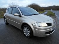 2007 RENAULT MEGANE 1.4 DYNAMIQUE 16V 5d 100 BHP  ** LOVELY VEHICLE THROUGHOUT ** £2495.00