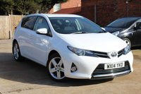 USED 2014 14 TOYOTA AURIS 1.6 EXCEL VALVEMATIC 5d 130 BHP **** FULL MAIN DEALER SERVICE HISTORY * HEATED SEATS * REVERSE CAMERA ****