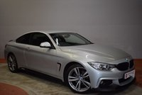 2013 BMW 4 SERIES 2.0 420D M SPORT 2door AUTO/PADDLE SHIFT 181 BHP Full BMW History £17450.00