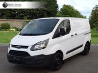 USED 2015 65 FORD TRANSIT CUSTOM 2.2 270 LR P/V 1d 99 BHP PLY LINED  PLY LINED LOW MILEAGE CHOICE OF VANS