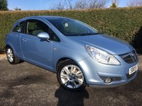 2009 VAUXHALL CORSA 1.2 DESIGN 16V 3d 80 BHP ONLY 44000 MILES, IDEAL FIRST CAR, AIR CONDITIONED £2995.00