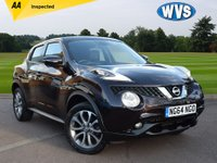 USED 2015 64 NISSAN JUKE 1.5 TEKNA DCI 5d 110 BHP A 1 owner 2015 Nissan Juke 1.5dci Tekna in Black with a black leather interior. AA inspected, 2 Nissan service stamps plus we will service the car prior to collection.