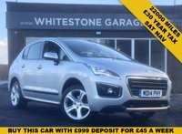 USED 2014 14 PEUGEOT 3008 1.6 E-HDI ALLURE 5d 115 BHP 22000 MILES AUTO DIESEL, SAT NAV, REAR CAMERA, PANORAMIC SUNROOF, FSH, £30 TAX
