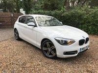 2013 BMW 1 SERIES 2.0 116D SPORT 5d 114 BHP £9489.00