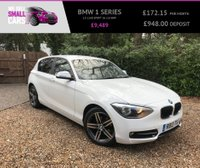 USED 2013 13 BMW 1 SERIES 2.0 116D SPORT 5d 114 BHP LOW MILES SERVICE HISTORY BLUETOOTH PHONE 17 INCH ALLOYS