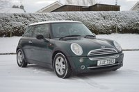 2005 MINI HATCH ONE 1.6 ONE 3d 90 BHP PEEPER PACK £950.00