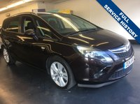 USED 2014 14 VAUXHALL ZAFIRA TOURER 2.0 SRI CDTI 5d AUTO 162 BHP FULLY SERVICE AND NEW 12 MONTH MOT,